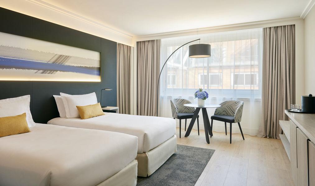 Opéra Hôtel Marriott Lyon Cité Internationale **** Chambre