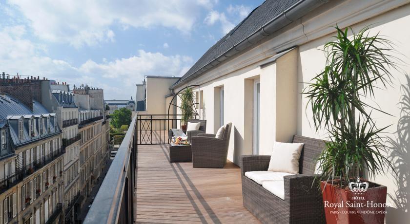 Hôtel Royal Saint Honoré **** 5