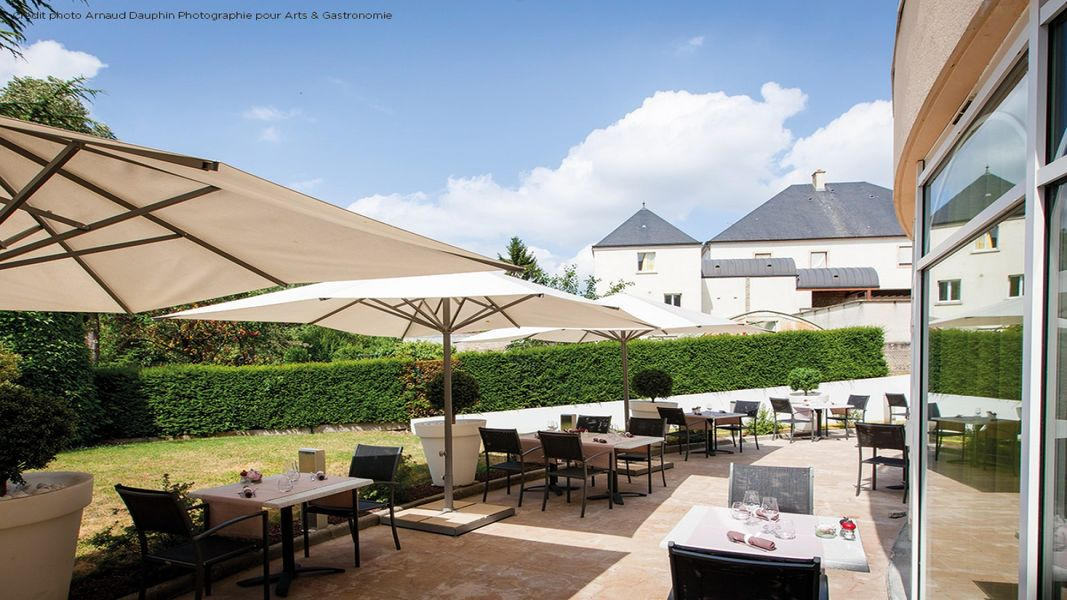 Le Richebourg Hôtel & Spa **** Terrasse