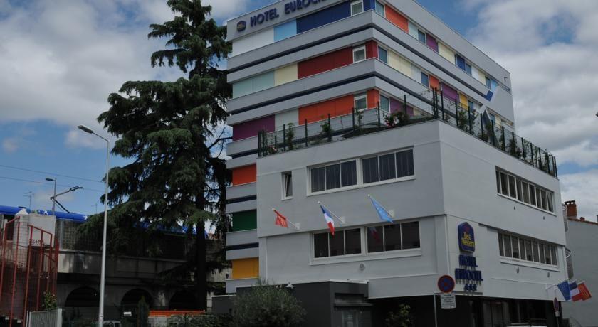 Best Western Eurociel Hotel *** Façade