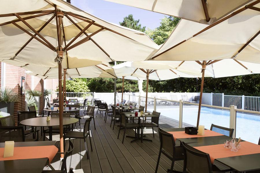 Novotel Toulouse Centre Compans Caffarelli **** Terrasse
