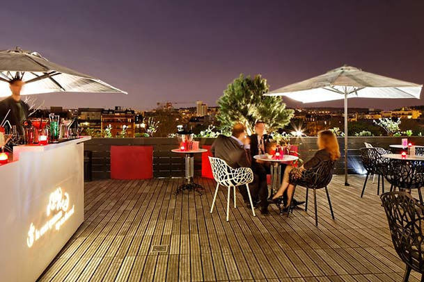 Courtyard by Marriott Paris Boulogne **** Rooftop