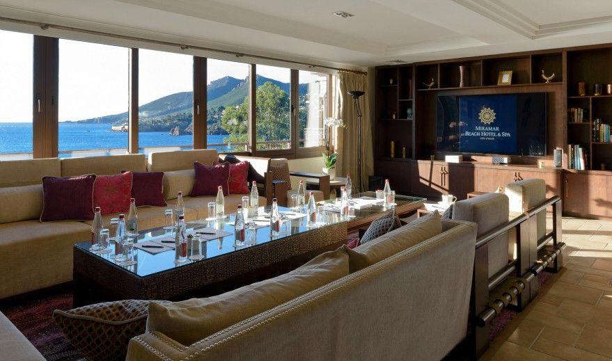 Tiara Miramar Beach Hôtel & Spa Côte d'Azur ***** Espace pause