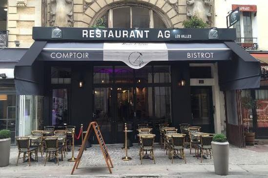 AG Restaurant Les Halles Façade