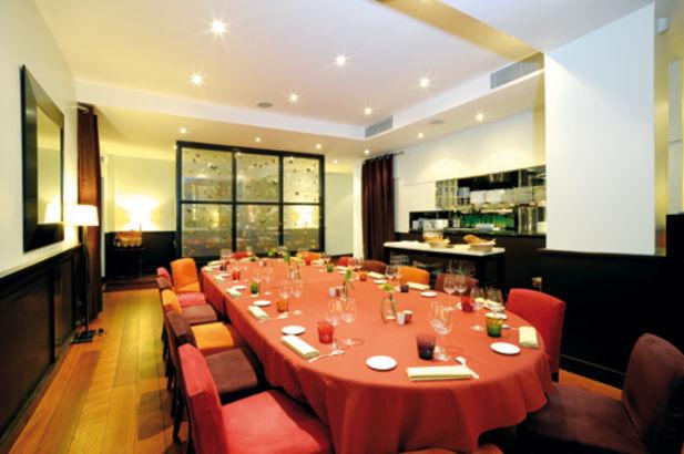 Restaurant Helene Darroze Repas D Affaires