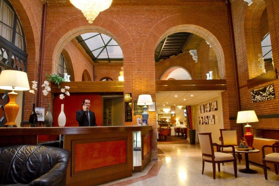Best Western Hôtel Les Capitouls **** Accueil