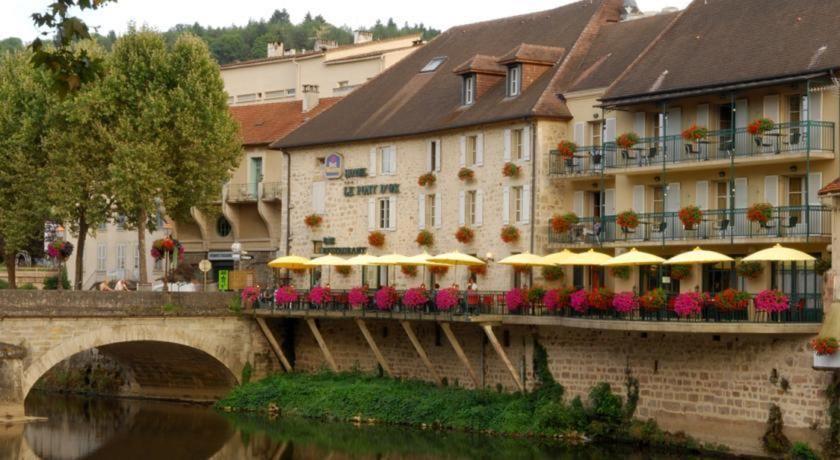 Best Western Le Pont D'or *** Façade