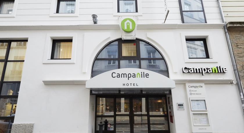 Hôtel Campanile Lyon Centre Berges du Rhône *** 24