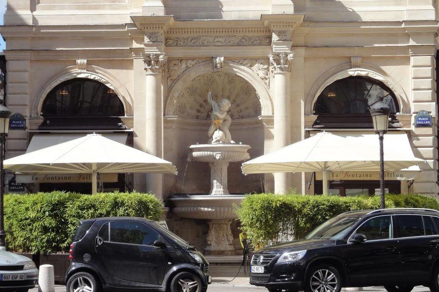 La Fontaine Gaillon Terrasse