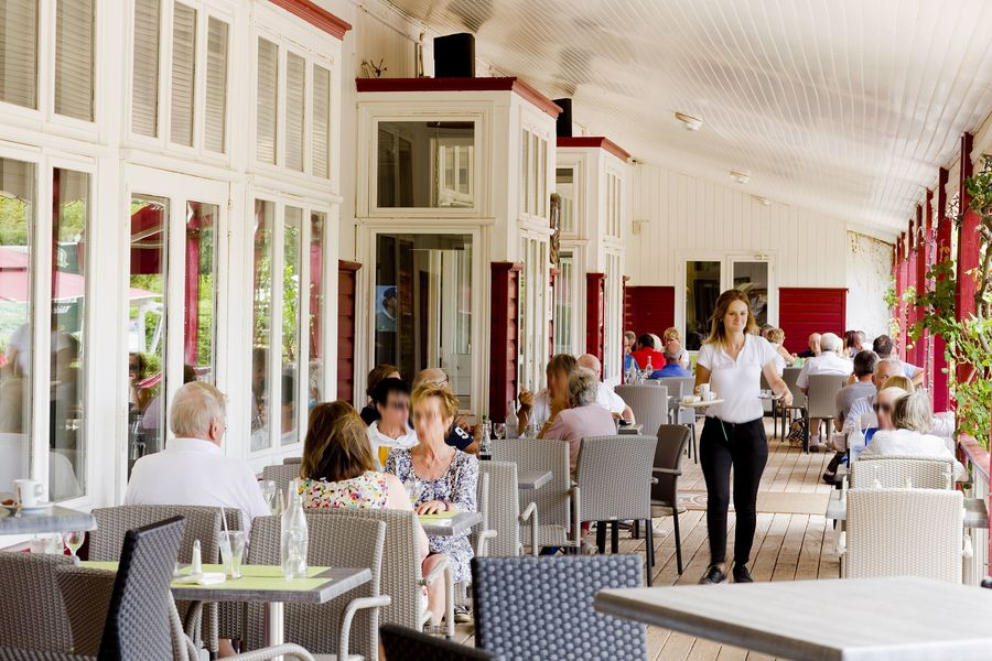 Najeti Golf Hôtel de Valescure **** Terrasse