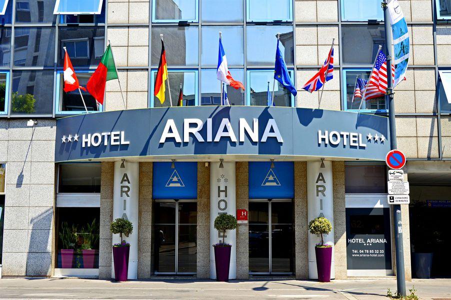 Hôtel Ariana *** Extérieur