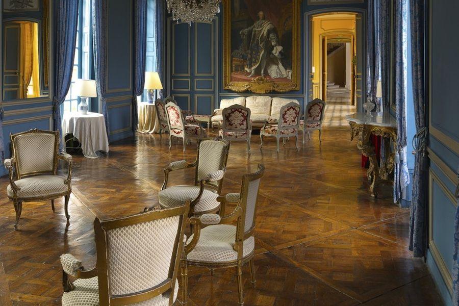 Château de Neuville Salon d'hivers