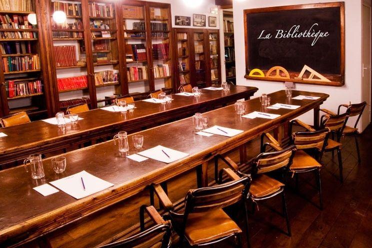 Collège Hôtel **** La Bibliothèque