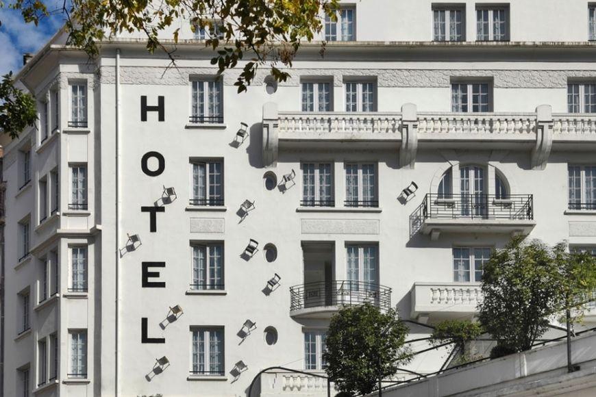 Collège Hôtel **** Façade