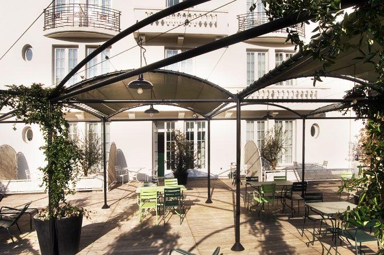 Collège Hôtel **** Terrasse
