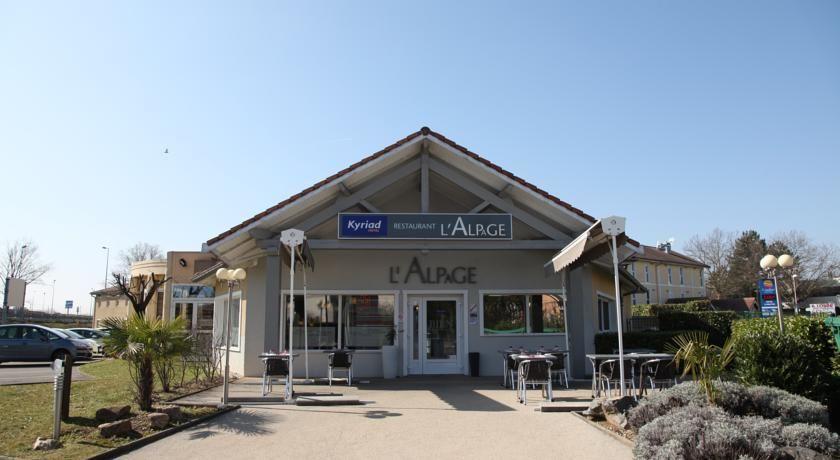 Kyriad Hotel Lyon Est Bron Eurexpo Le Cottage 33