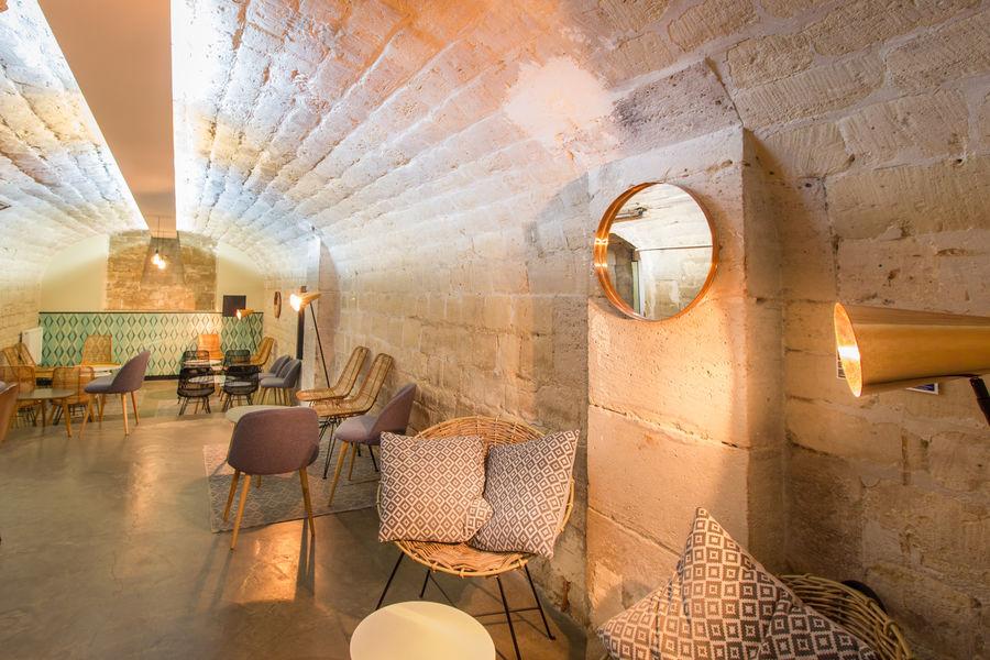 Atelier des Sens - Paris Beaubourg Cave voutée