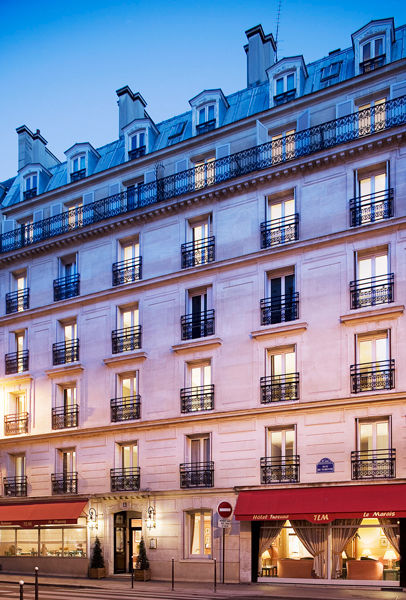 Hotel Turenne le Marais *** Façade
