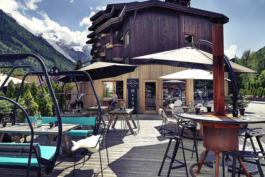 Hotel Mercure Centre Chamonix avec espaces massage et ostéopathie réservé aux masseurs kinésithérapeutes et ostéopathes de Physioski