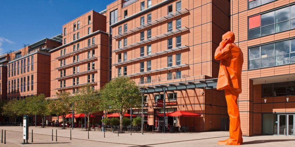 Crowne Plaza Lyon Cité Internationale **** Extérieur