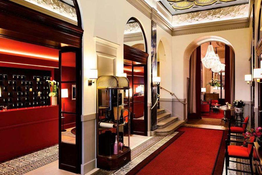 Hôtel Carlton Lyon MGallery By Sofitel **** Accueil
