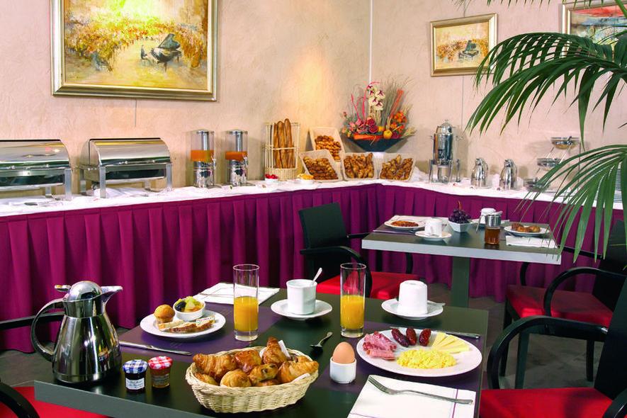 Park&Suites Lyon Part-Dieu  Petit-déjeuner