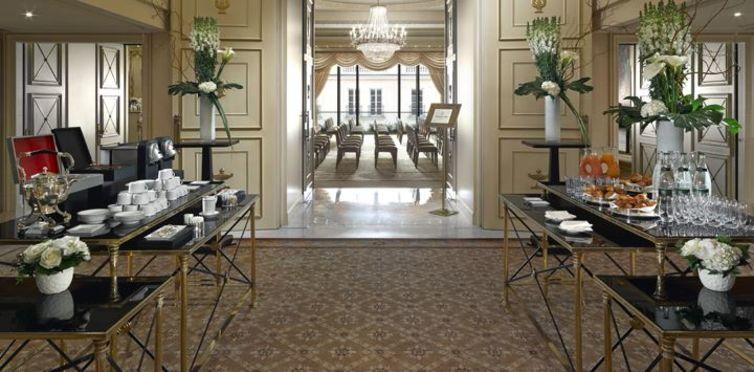 Salle séminaire  - Shangri-La Hôtel Paris *****
