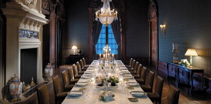 Shangri-La Hôtel Paris ***** Salle à manger