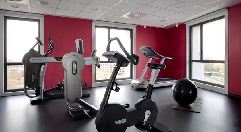 Park Inn by Radisson Lille Grand Stade **** Salle de fitness