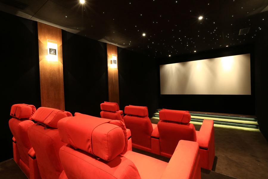 Domaine de Manville ***** Salle de cinéma