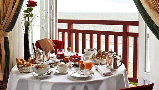 L'Hermitage ***** Petit-déjeuner