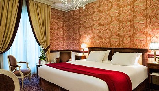 Le Castel Marie-Louise ***** Chambre