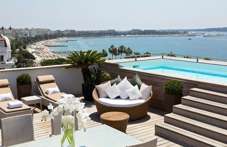 Hôtel le Majestic Cannes ***** Terrasse
