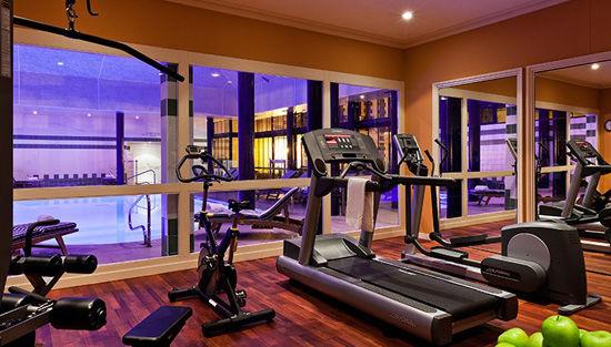 Le Grand Hôtel ***** Salle de fitness