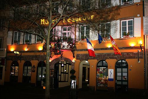 Hôtel Beaucour **** Façade