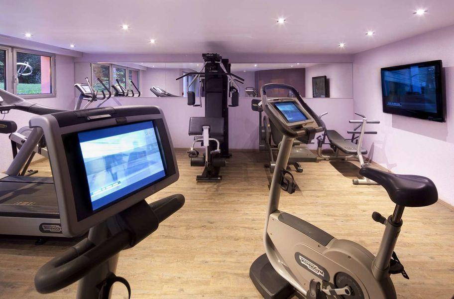 Diana Hotel Restaurant Et Spa **** Salle de fitness