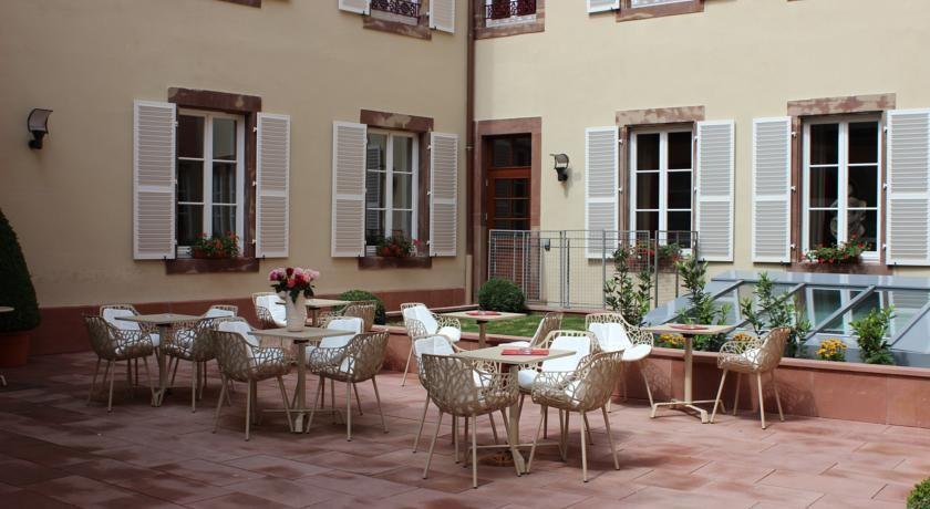 Le Bouclier d'Or Hôtel & Spa **** Terrasse