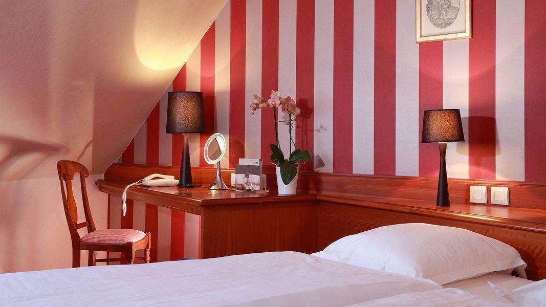Hôtel Restaurant L'Ami Fritz *** Chambre