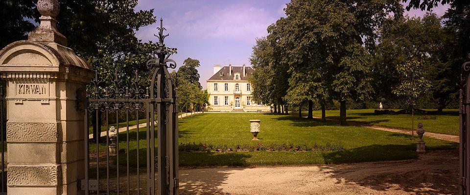 Château Kirwan Façade