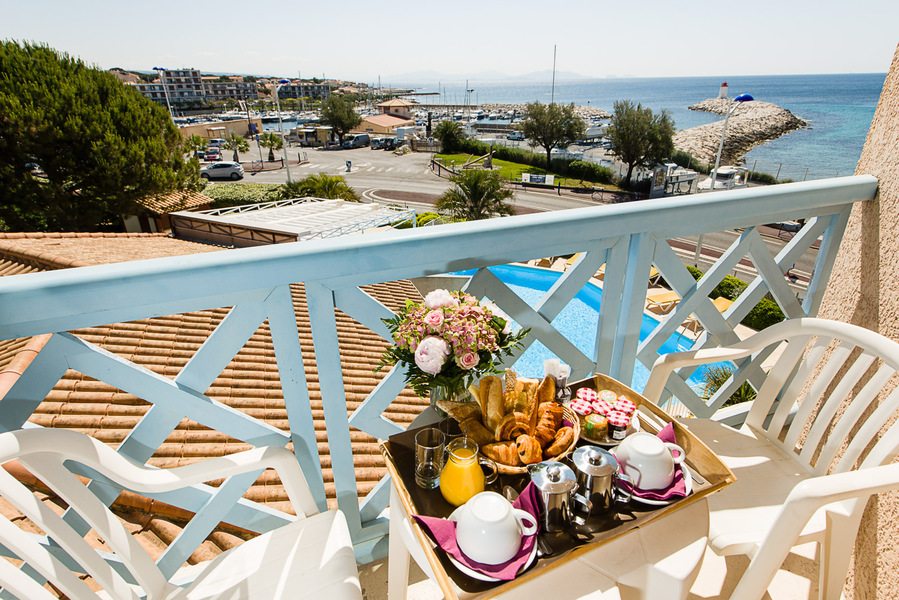Hôtel Best Western Paradou Méditerranée *** Balcon