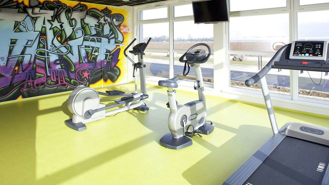 BEST WESTERN Plus Hotel Le Rhenan *** Salle de fitness