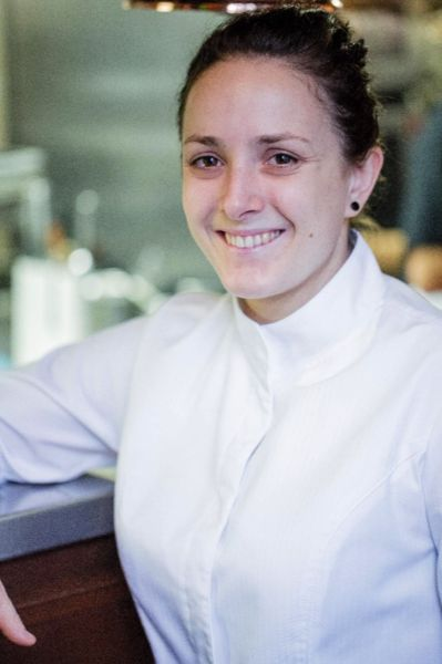 Restaurant Allard Chef Fanny Herpin