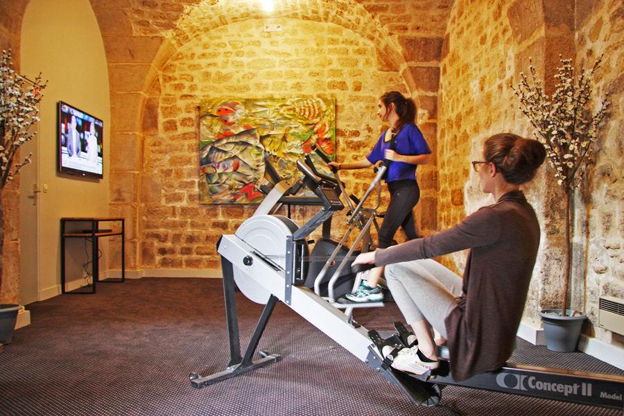 Hôtel du Jeu de Paume **** Salle de fitness