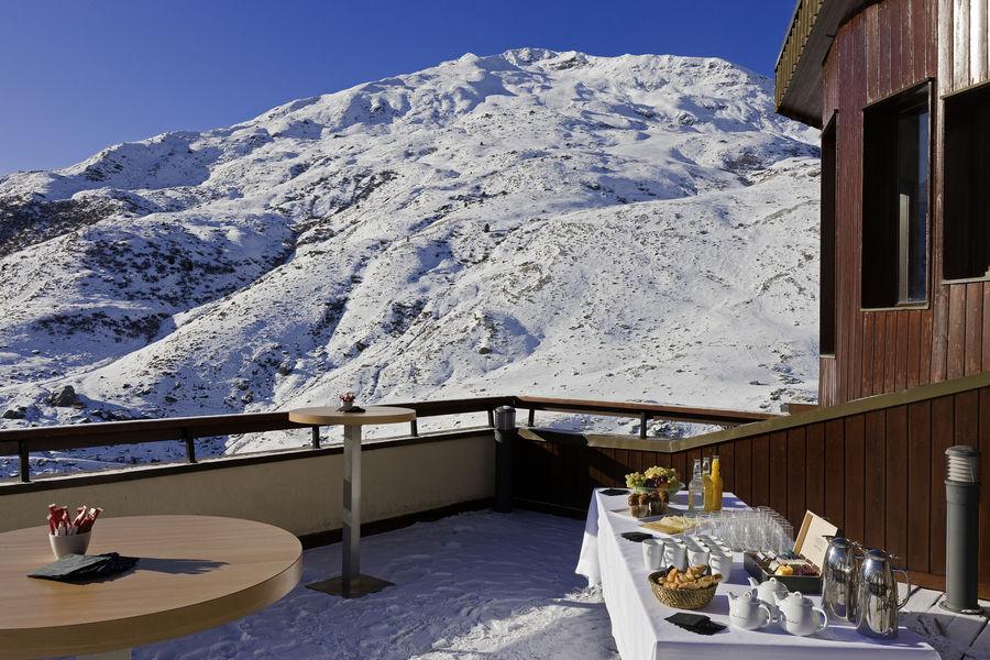 Hotel Les Bruyeres *** Terrasse