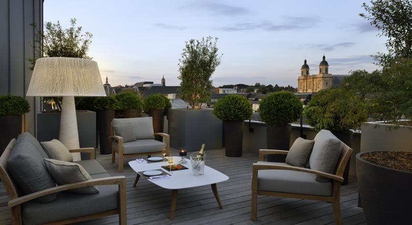 Balthazar Hôtel & Spa ***** Terrasse