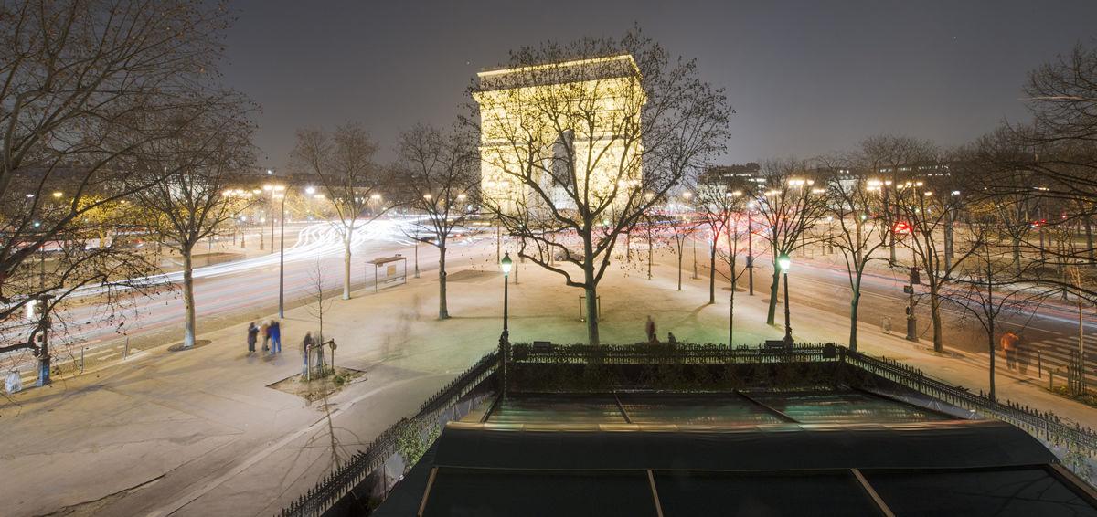 Pavillons Étoile & Presbourg Vue sur l'Arc de Triomphe