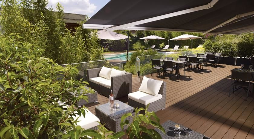 Holiday Inn Express Toulouse Airport **** Terrasse