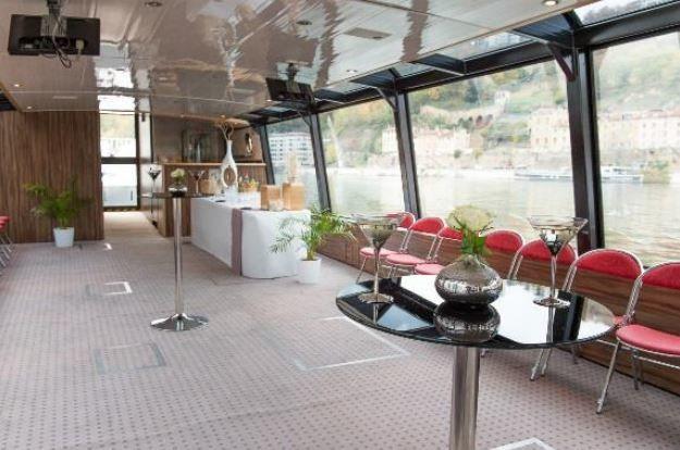 Lyon City Boat - Bateau Navilys Intérieur