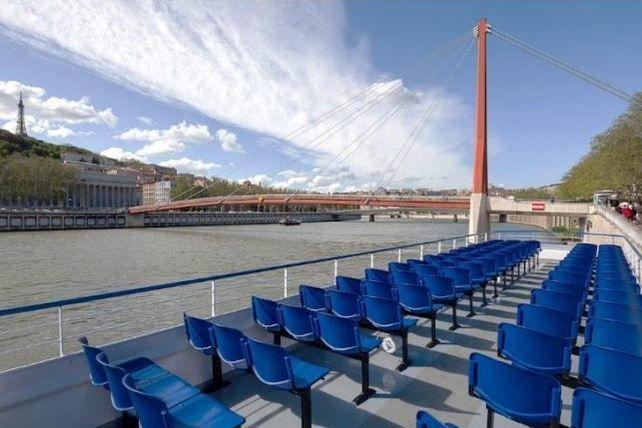 Lyon City Boat - Bateau Navilys Terrasse