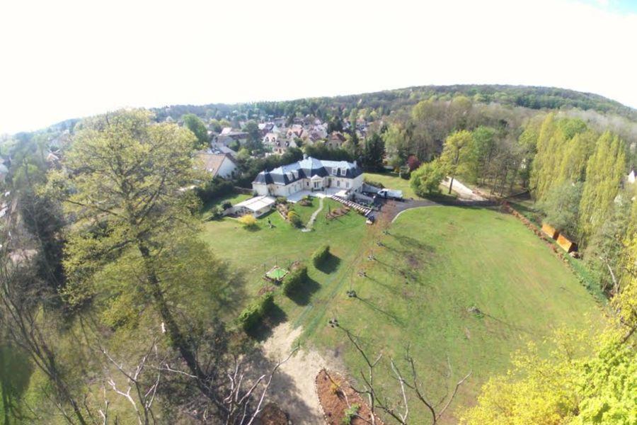 Villa Diana Vue aérienne